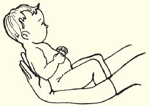 Поднимание головы и плеч из положения лежа на спине