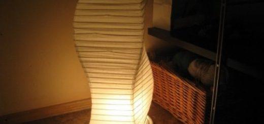 настенный и напольный светильники