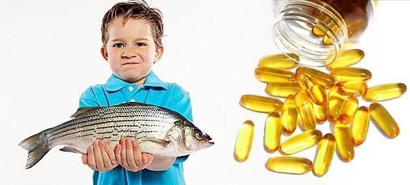 Как правильно принимать рыбий жир ребенку?