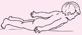 Прогибание спины – рыбка