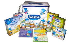 Выбираем молочную смесь компании Nestle