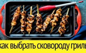 Как выбрать чугунную сковороду-гриль