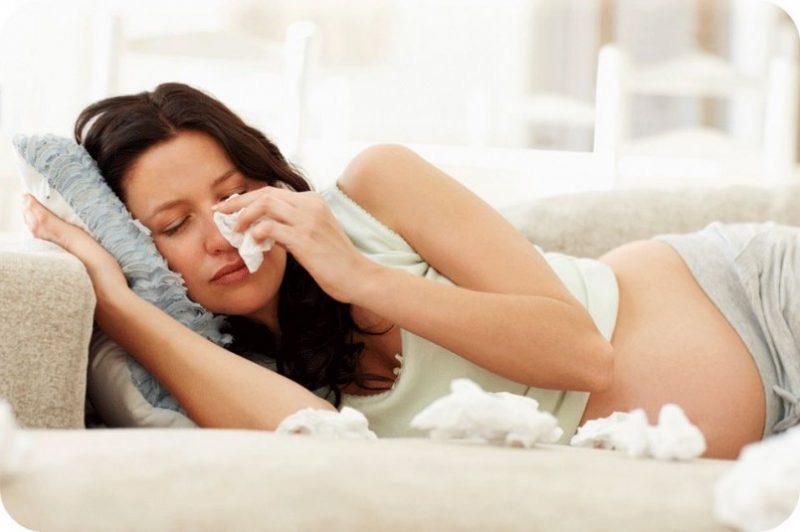 Что делать если простудилась при беременности