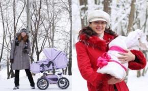 Зимние прогулки с младенцем: как не навредить?