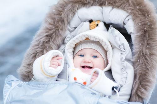 Зимний уход за кожей малыша