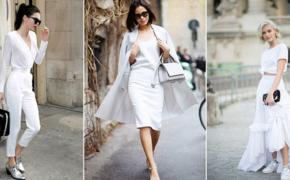 Как правильно носить белое?