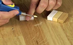 4 способа замаскировать царапины на ламинате