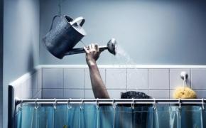 Если отключили горячую воду