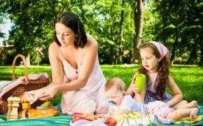 Еда для пикника с ребенком